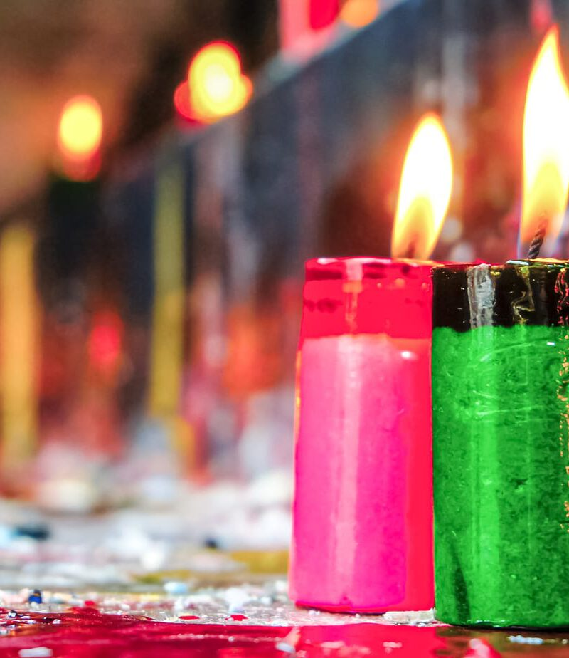 candles colors